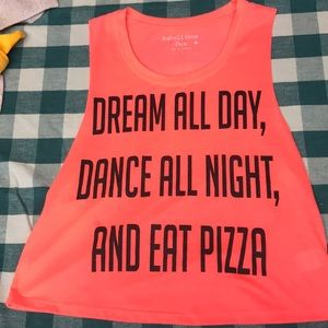 Dream all day crop top